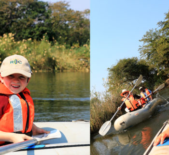 Courage, Canoes and the Pink Dolphin Unicorn of the Zambezi